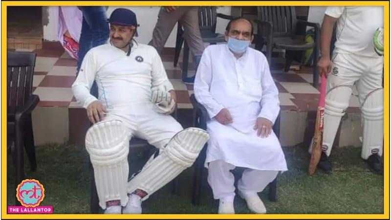 कोरोना काल में क्रिकेट खेलने वाले मनोज तिवारी 'आउट'