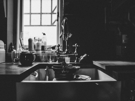 Greyscale Phoro Of Sink 1924815
