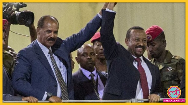 Isaias Afwerki With Abiy Ahmed