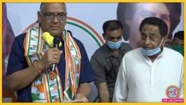 मध्य प्रदेश में कांग्रेस ने बीजेपी नेता और पूर्व मंत्री को एक साल में दो बार पार्टी जॉइन करा दी!
