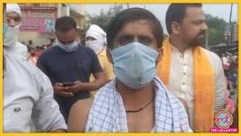 मेरठ: शिव मंदिर के सेवादार की हत्या, बेटे ने कहा- कपड़े को लेकर आरोपियों ने कमेंट किया था