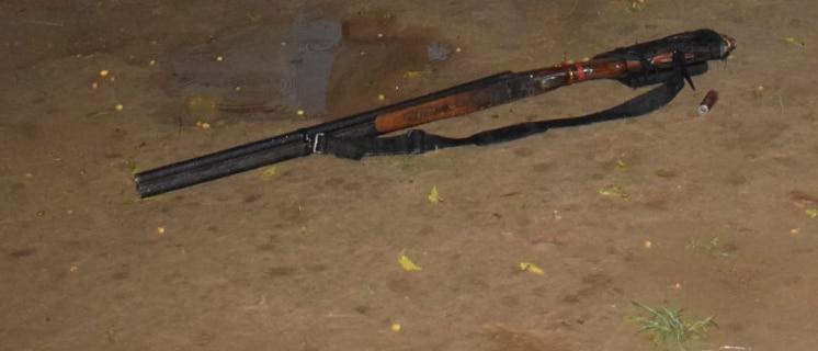 बउवा शुक्ला के पास मिला हथियार (तस्वीर ANI)