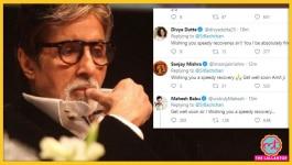 अमिताभ बच्चन कोरोना से लड़कर स्वस्थ हो जाएं, एक्टर-क्रिकेटर ऐसे कर रहे हैं प्रार्थना