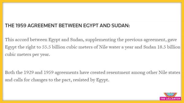 1959 Egypt Sudan Agreement
