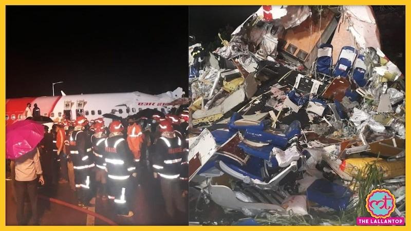 केरल: रनवे से फिसलकर दो टुकड़ों में बंटा एयर इंडिया का विमान, पायलट सहित 16 की मौत