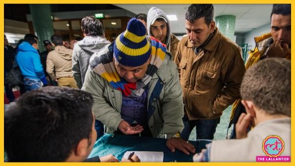 Refugee Immigrant In Sweden