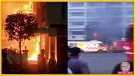 आंध्र प्रदेश: कोविड फैसिलिटी वाले होटल में आग लगने से 9 की मौत, कुछ घबराकर छत से कूदे