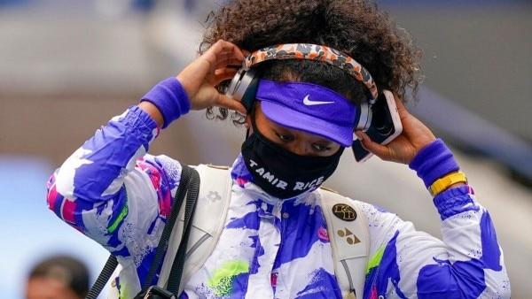 नाओमी ओसाका ने यूएस ओपन के हर दौर में ब्लैक लाइव्ज मैटर से जुड़े मास्क पहने.