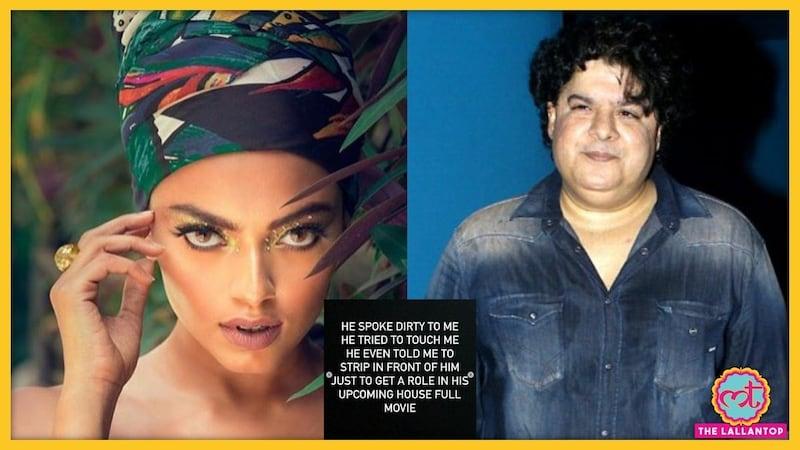 मॉडल का आरोप: मूवी में काम देने के लिए साजिद खान ने कपड़े उतारने को कहा था