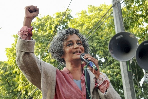 Caa: Arundhati Roy At A Protest