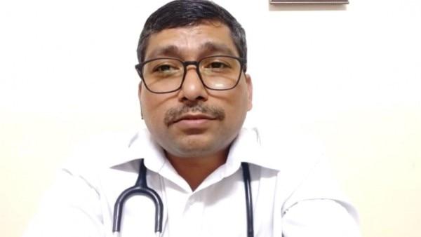 डॉक्टर राजीव कुमार, एमडी मेडिसिन, हिंडाल्को, सोनभद्र