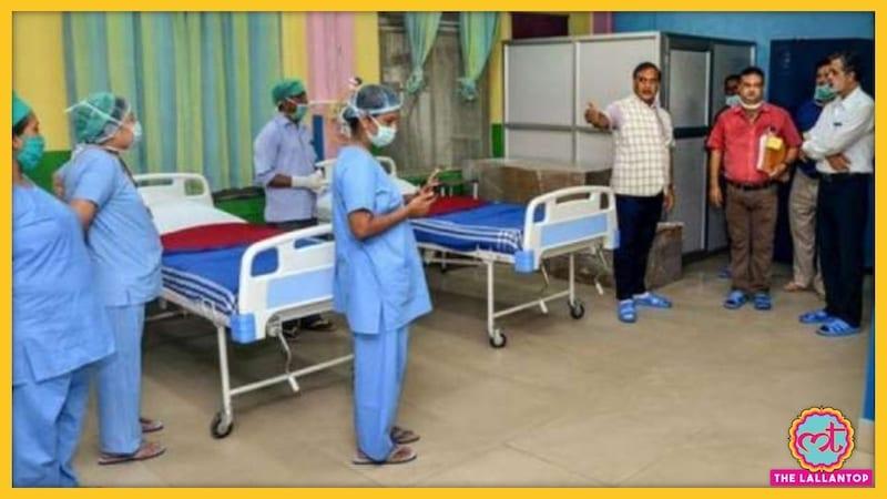 कोरोना संक्रमित महिला को अस्पताल ने भर्ती नहीं किया, गेट पर ही उसने बच्चे को जन्म दिया!