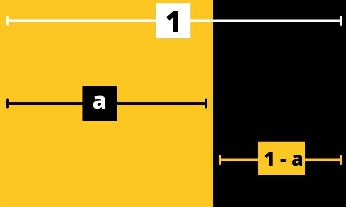 कभी पता नहीं लग पाएगा कि पीले वाले बॉक्स की चौड़ाई क्या है और काले वाले की क्या?