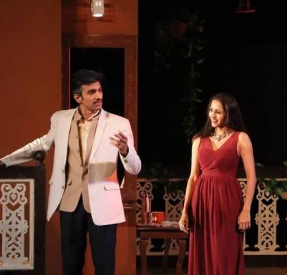 Pratik And Bhamini Theatre Performance
