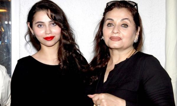 Salma With Daughter