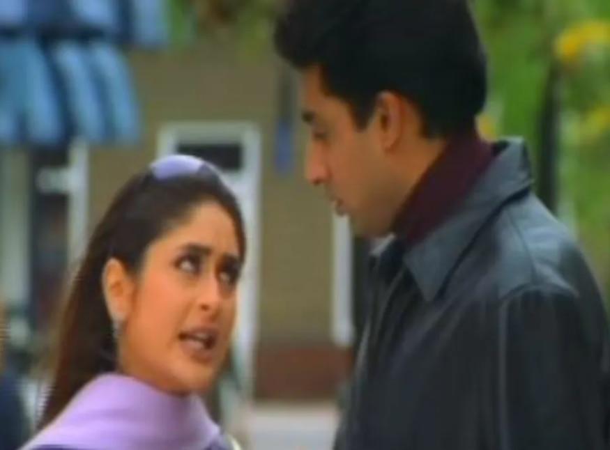 फिल्म के डिलीटेड फुटेज में करीना कपूर और अभिषेक बच्चन.