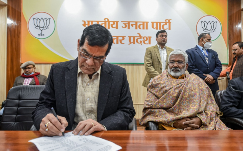 Arvind Sharma Signing Joining Papers