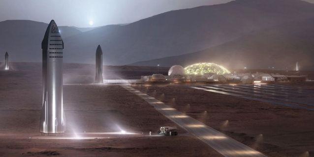 मंगल पर ऐसे स्टारशिप लैंड करेगा.