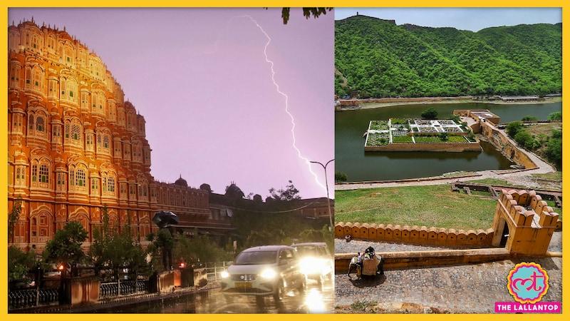 आमेर किले में सेल्फी लेते लोगों पर गिरी बिजली, 16 की मौत; राजस्थान-यूपी में 64 से ज्यादा जानें गईं