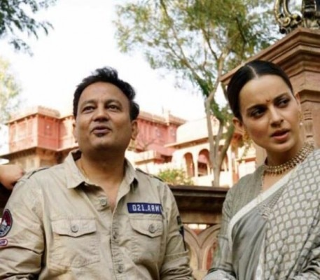 Kangana Ranaut And Kamal Jain In Manikarnika