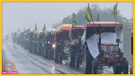 शाहजहांपुर बॉर्डर से हरियाणा में घुस रहे किसानों पर पुलिस ने किया लाठीचार्ज