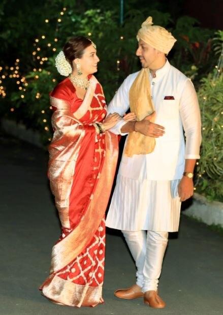 दिया मिर्जा ने बिजनेसमैन वैभव रेखी से शादी की. (फोटो-PTI)