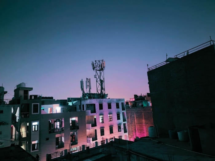 Lowlight Night Mode Cyberpunk Filter