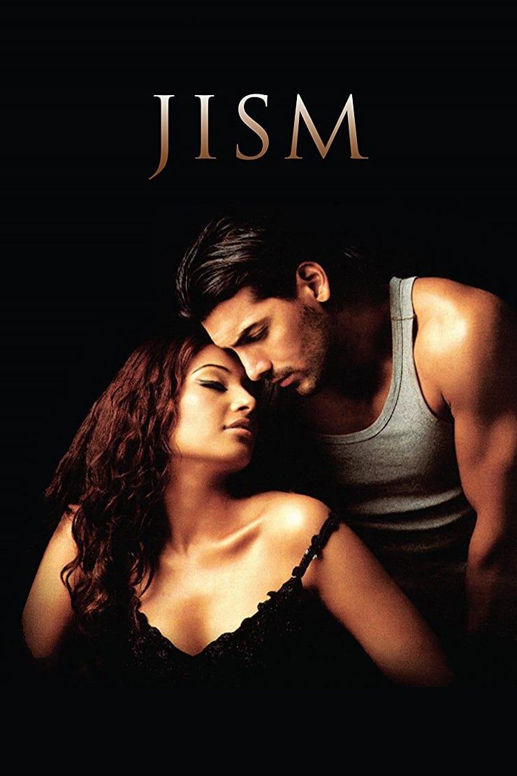 फिल्म 'जिस्म' के पोस्टर पर अपनी को-स्टार बिपाशा बासु के साथ जॉन.