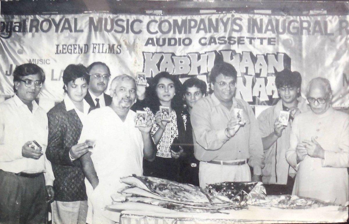 फिल्म के एक प्रमोशनल इवेंट के दौरान फिल्म की पूरी कास्ट और डायरेक्टर के साथ चीफ गेस्ट सुभाष घई.
