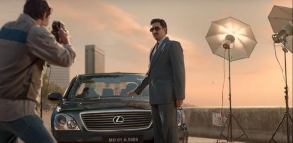 Abhishek Leaning On Lexus
