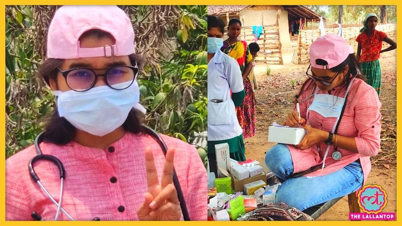 नदी पार कर उस गांव में कोरोना का टीका लगा आईं जहां सड़क भी नहीं जाती