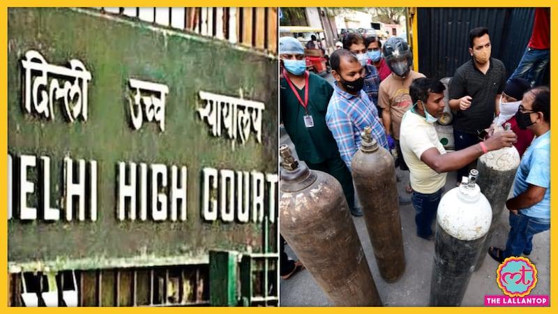 दिल्ली हाई कोर्ट ने ऑक्सीजन की किल्लत पर केंद्र सरकार को बुरी तरह लताड़ दिया है