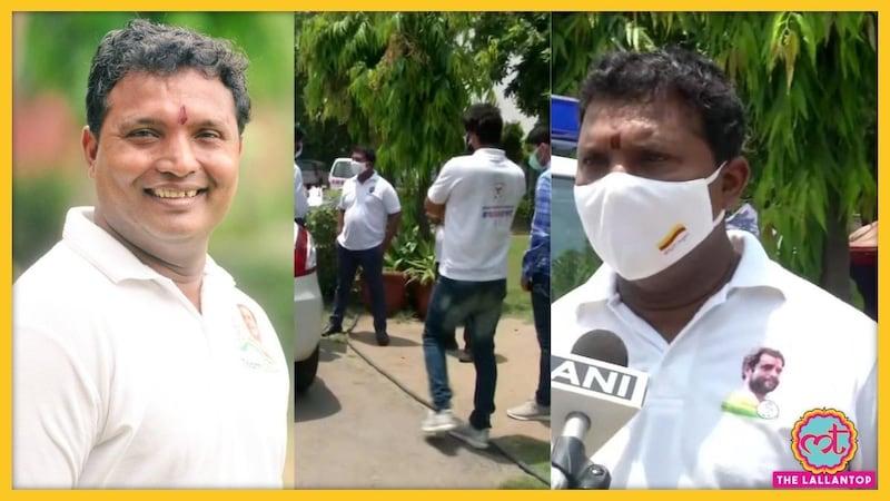 दिल्ली पुलिस द्वारा पूछताछ के बाद यूथ कांग्रेस नेता श्रीनिवास ने क्या कहा?