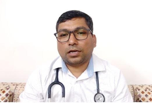 डॉक्टर राजीव कुमार, एमडी मेडिसिन, कपूर हॉस्पिटल, उत्तराखंड