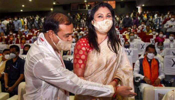 Himanta Wife