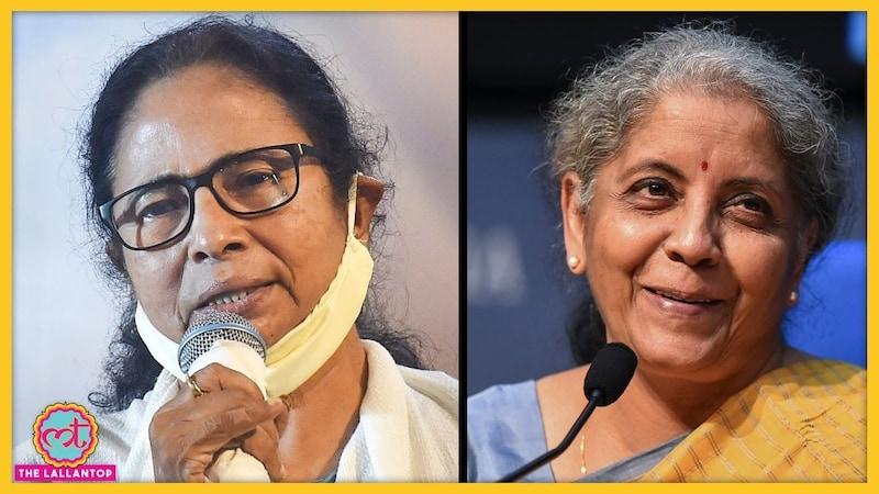 ममता बनर्जी ने कोरोना के इलाज में काम आ रही चीजों पर टैक्स छूट मांगी तो वित्त मंत्री ने GST के फायदे गिना दिए
