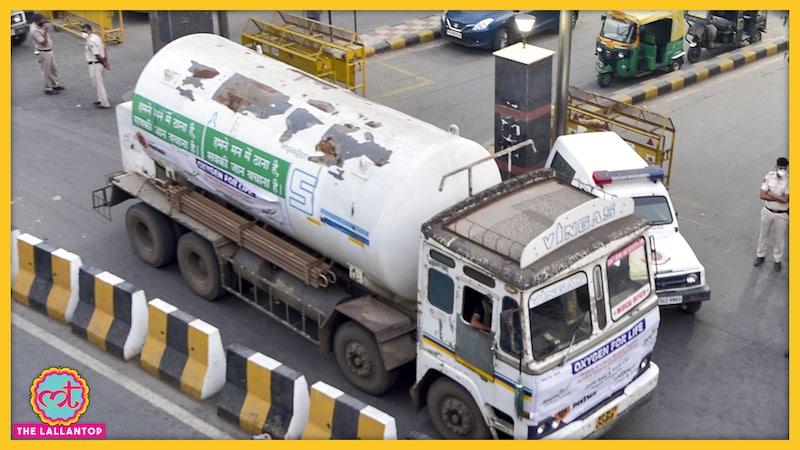 हैदराबाद में ऑक्सीजन टैंकर रास्ता भटक गया, Covid 19 के 7 मरीजों की मौत हो गई
