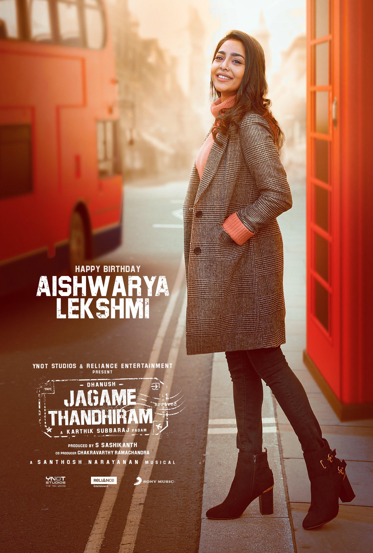 मलयालम फिल्म एक्ट्रेस ऐश्वर्या लेक्शमी. वो फिल्म में धनुष की लव इंट्रेस्ट का रोल प्ले कर रही हैं.