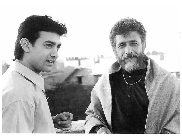 'सरफरोश', नसीर और आमिर की एक साथ दूसरी फिल्म थी.