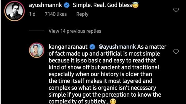 Ayushmann Khurrana And Kangana