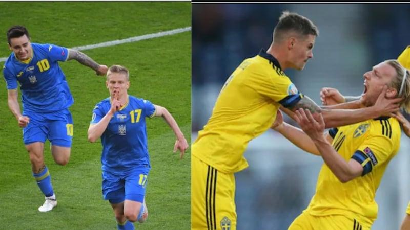 यूक्रेन से हारकर EURO2020 से बाहर हुआ स्वीडन