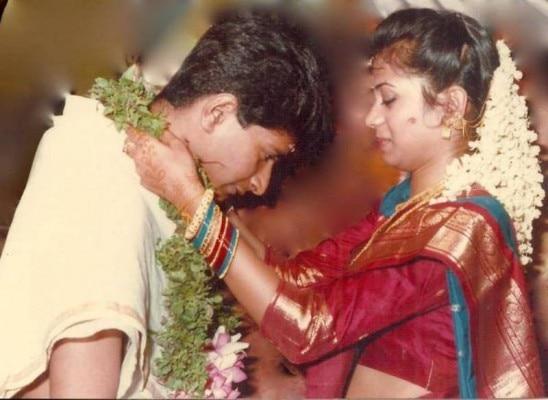 केके और ज्योति के विवाह की तस्वीर.