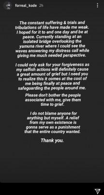 Mc Kode Last Instagram Post