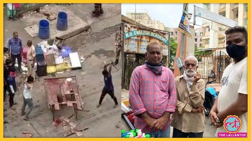 मुंबई: BMC ने इस गरीब का ठेला तोड़ दिया तो मदद के लिए ये लोग आगे आए