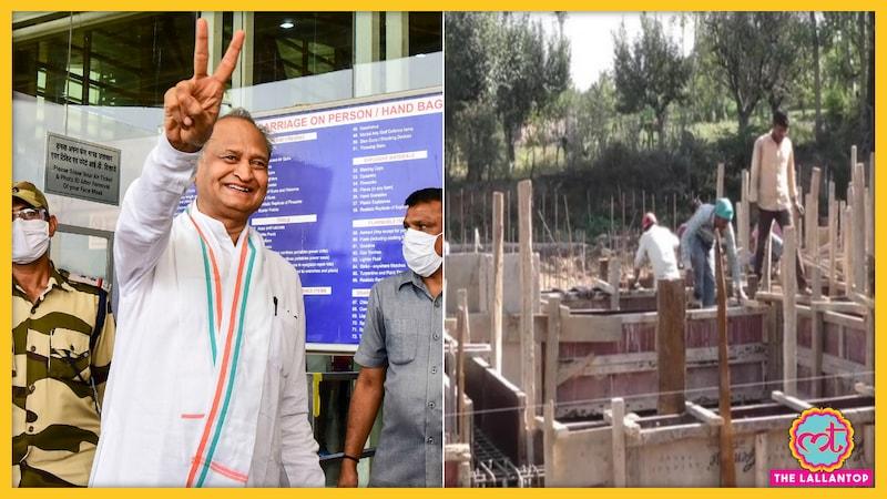 सेंट्रल विस्टा प्रोजेक्ट पर सवाल उठा रही कांग्रेस, राजस्थान में विधायकों के लिए बन रहे फ्लैट्स