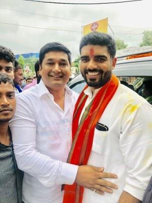 Saurabh Pandey With Prince Raj