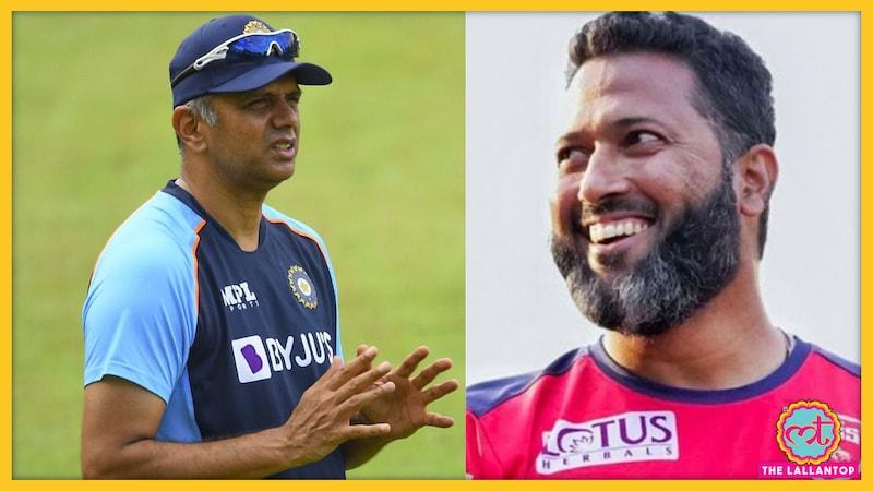 वसीम जाफर क्यों चाहते हैं राहुल द्रविड़ को नहीं होना चाहिए टीम इंडिया का कोच?