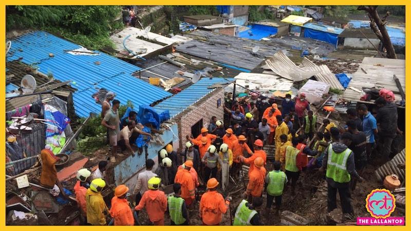 मुंबई में बारिश से बड़ा हादसा, चेंबूर में दीवार गिरने से 17 की मौत