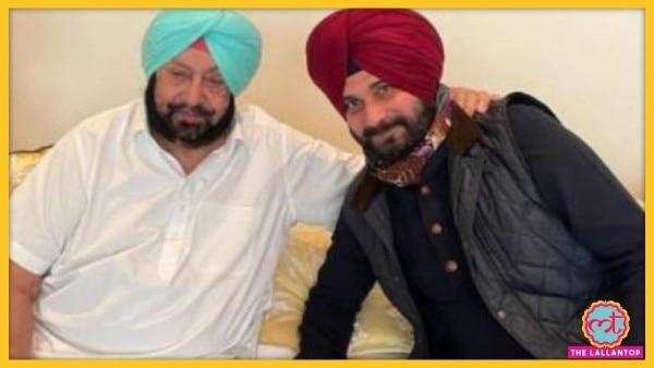 Cm Captain Amarinder Singh And Navjot Singh Sidhu