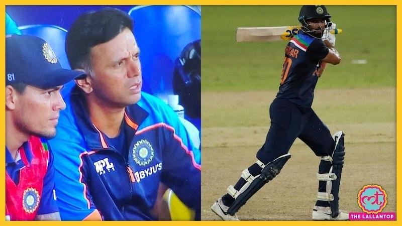 'हारे' हुए मैच के बीच राहुल द्रविड़ ने दीपक चाहर को क्या संदेसा भिजवाया?